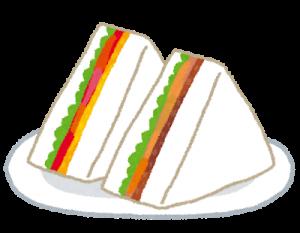サンドイッチの英単語