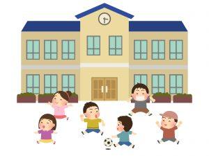 子供向け英会話外で遊ぶ子供