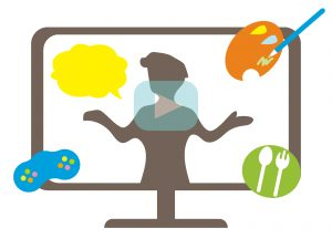 オンラインでの教育イメージ