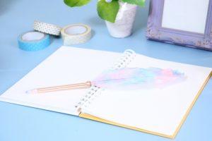 日記とデコレーション