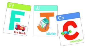 アルファベットゴーフィッシュゲームのカード