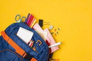小学生の荷物