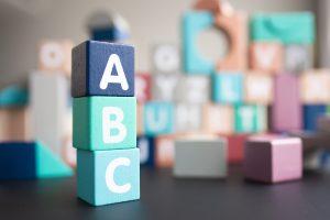 英語のブロック