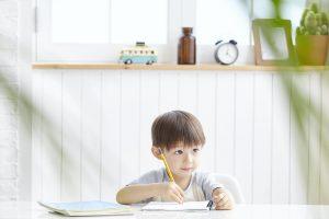 男の子英語勉強