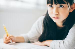 女の子子ども英会話勉強